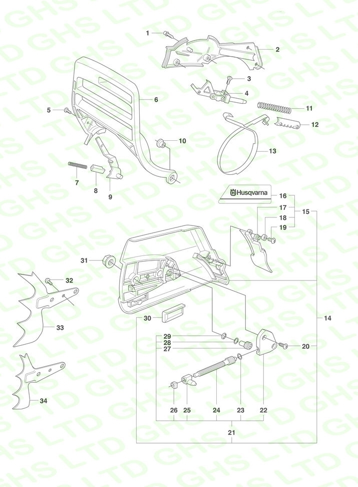 Husqvarna 350 Parts Manual Ebook