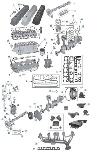 2002 Jeep Liberty Parts Diagram | Automotive Parts Diagram