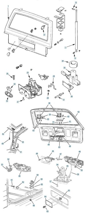 1999 Jeep Grand Cherokee Parts Diagram | Automotive Parts