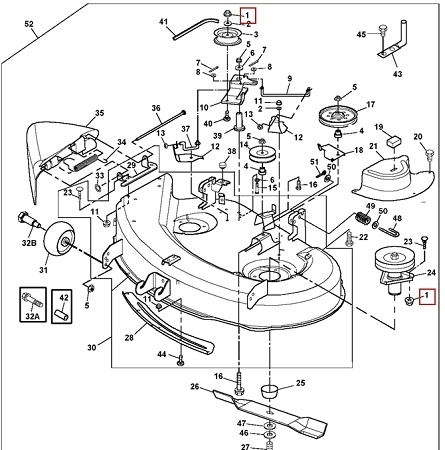 John Deere 54 Snowblower Parts Diagram Wiring Diagrams