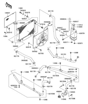 Kawasaki Mule 3010 Parts Diagram | Automotive Parts
