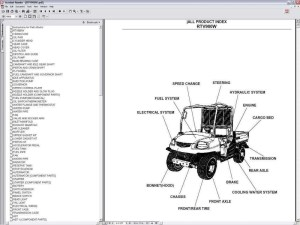 Kubota Rtv 900 Parts Diagram | Automotive Parts Diagram Images