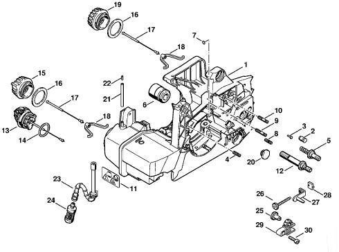 Stihl 028 Av Super Parts Diagram Stihl Free Engine Image