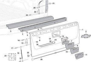 2002 Chevy Silverado Parts Diagram | Automotive Parts