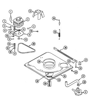 Kenmore 80 Series Washer Parts Diagram | Automotive Parts
