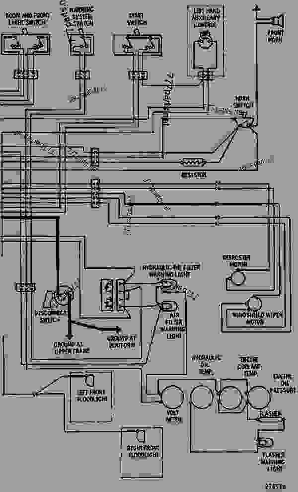 Wiring Diagram For Caterpillar Forklift V50d : 44 Wiring