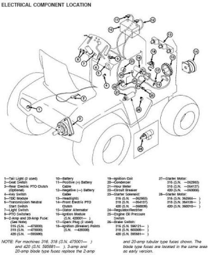 John Deere 212 Parts Diagram | Automotive Parts Diagram Images