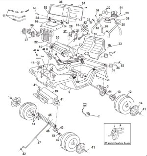 2000 Jeep Wrangler Parts Diagram | Automotive Parts