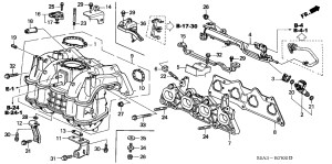 2001 Honda Civic Engine Diagram | Automotive Parts Diagram