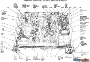 1991 Ford F150 Engine Diagram | Automotive Parts Diagram
