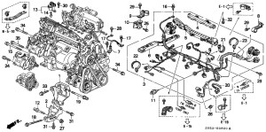 94 Honda Accord Engine Diagram | Automotive Parts Diagram Images