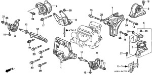 98 Honda Civic Engine Diagram | Automotive Parts Diagram