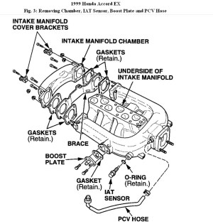 1999 Honda Accord Engine Diagram | Automotive Parts