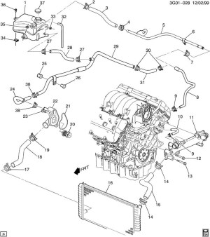 2001 Oldsmobile Aurora Engine Diagram | Automotive Parts Diagram Images
