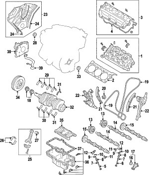 2004 Mazda 6 Engine Diagram | Automotive Parts Diagram Images