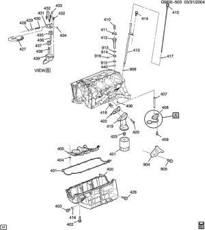 2005 Chevy Equinox Engine Diagram | Automotive Parts