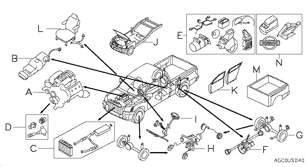 2006 Nissan 25l Engine Frontier Diagram