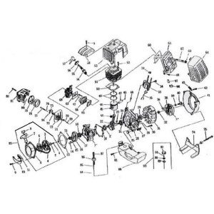 49Cc Pocket Bike Engine Diagram | Automotive Parts Diagram