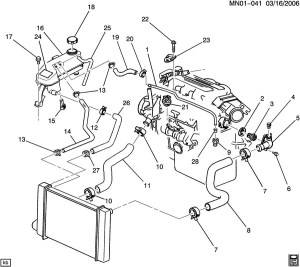 2001 Chevy Malibu Engine Diagram | Automotive Parts