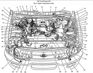 1999 Ford F150 Engine Diagram | Automotive Parts Diagram