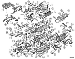 2004 Ford Explorer Engine Diagram | Automotive Parts