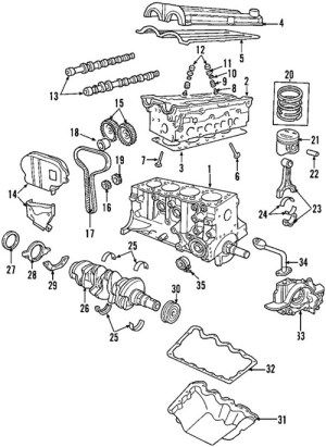 Ford Focus Zetec Engine Diagram | Automotive Parts Diagram
