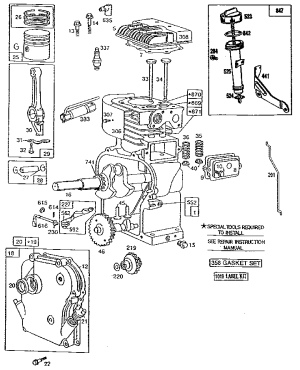 Briggs And Stratton Engine Diagram | Automotive Parts