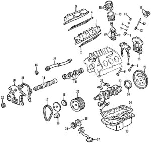 2002 Chevy Malibu Engine Diagram | Automotive Parts