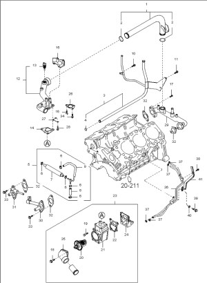 2005 Kia Sorento Engine Diagram | Automotive Parts Diagram