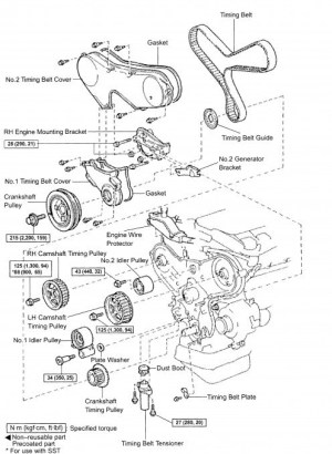 1993 Toyota Camry Engine Diagram | Automotive Parts