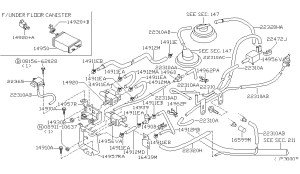 2000 Nissan Frontier Engine Diagram | Automotive Parts