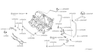 2000 Nissan Sentra Engine Diagram | Automotive Parts
