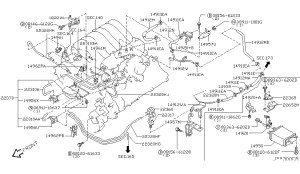 2003 Nissan Pathfinder Engine Diagram | Automotive Parts