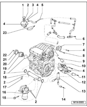 2001 Vw Jetta 20 Engine Diagram | Automotive Parts