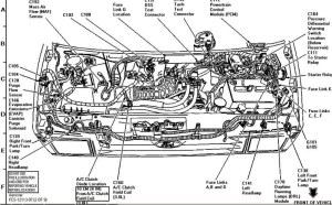 1997 Ford Explorer Engine Diagram | Automotive Parts