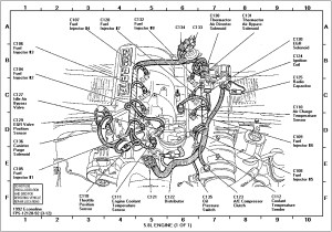 2001 Ford Taurus Engine Diagram | Automotive Parts Diagram