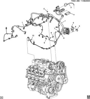 2004 Chevy Trailblazer Engine Diagram | Automotive Parts
