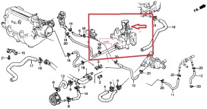 1999 Honda Accord V6 Engine Diagram | Automotive Parts