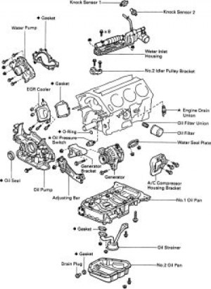 1995 Toyota Camry Engine Diagram | Automotive Parts