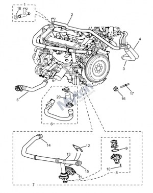 2003 Jaguar X Type Engine Diagram | Automotive Parts