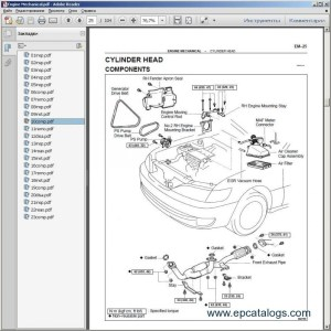 1997 Lexus Es300 Engine Diagram | Automotive Parts Diagram