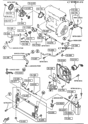Mazda Mpv 2001 Engine Diagram | Automotive Parts Diagram