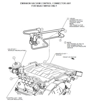 2001 Mercury Cougar Engine Diagram | Automotive Parts