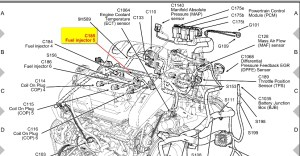2001 Ford Escape Engine Diagram | Automotive Parts Diagram