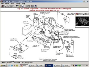 2000 Honda Accord Engine Diagram | Automotive Parts