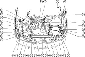 2000 Toyota Avalon Engine Diagram | Automotive Parts