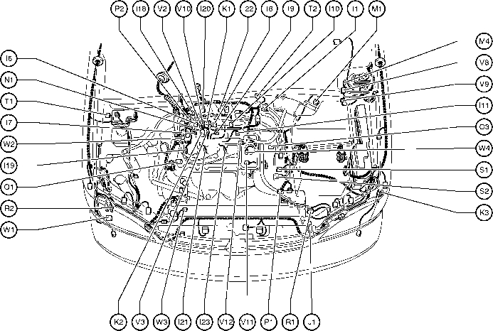 2000 Toyota Corolla Parts Diagram