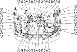 2000 Toyota Corolla Engine Diagram | Automotive Parts