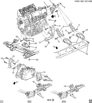 2001 Chevy Impala Engine Diagram | Automotive Parts