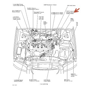 2001 Nissan Sentra Engine Diagram | Automotive Parts